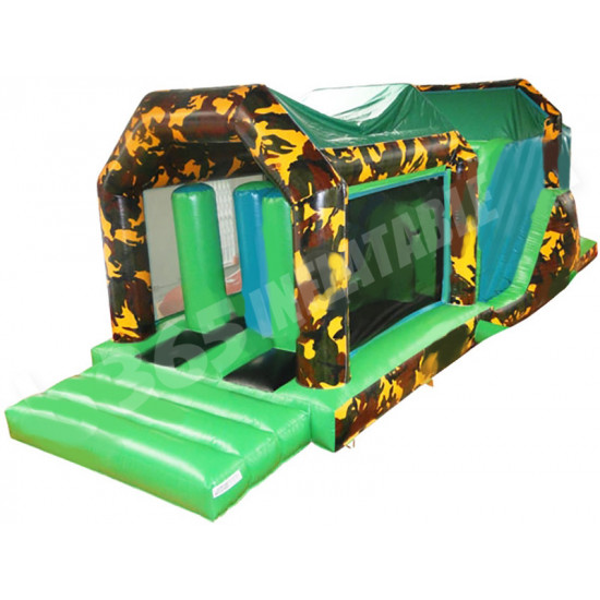 Aufblasbarer Army Assault Course