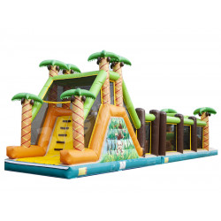Mega Jungle Obstacle Course
