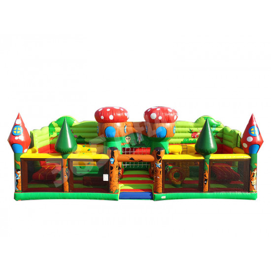 Kleinkind Enchanted Forest Inflatable Combo