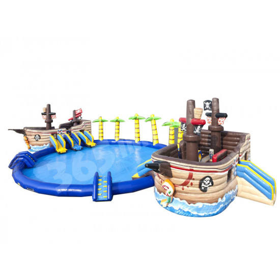 Piratenschiff Battle Waterpark